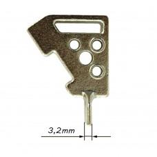 CAMO įrankio kojytė 3,2mm tarpui formuoti