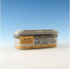 CAMO medsraigtis terasoms, nerūdijančio plieno A4, 60mm (350vnt.)