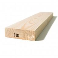 Kalibruota graduota C18 mediena 45x120x5100