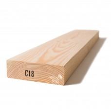 Kalibruota graduota C18 mediena