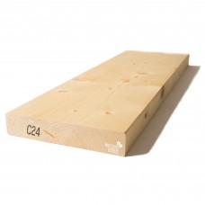 Kalibruota graduota C24 mediena