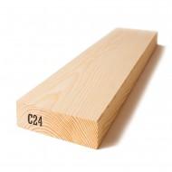 Kalibruota graduota C24 mediena 73x170x6000