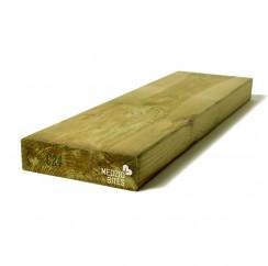 Kalibruota impregnuota graduota C24 mediena 45x195x6000