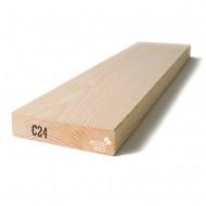Kalibruota graduota C24 mediena 45x195x6000