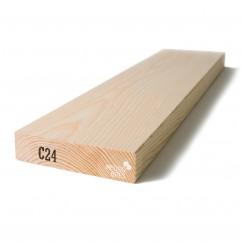 Kalibruota graduota C18 mediena 45x195x4800