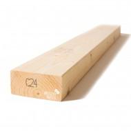 Kalibruota graduota C24 mediena 45x95x3000