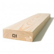 Kalibruota graduota C24 mediena 45x120x6000