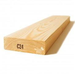 Kalibruota graduota C24 mediena 45x145x6000