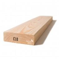 Kalibruota graduota C18 mediena 45x145x5400