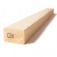 Kalibruota graduota C24 mediena 45x70x4800