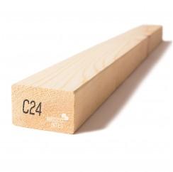 Kalibruota graduota C24 mediena 45x70x6000