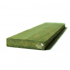 Nedžiovinta impregnuota mediena 27x110x6000