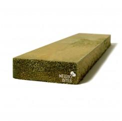 Nedžiovinta impregnuota mediena 32x100x6000